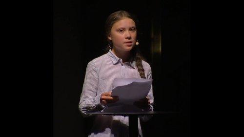 Greta Thunberg: più consumi, più hai il dovere di cambiare