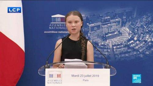 Greta Thunberg al Parlamento francese: il discorso integrale in italiano