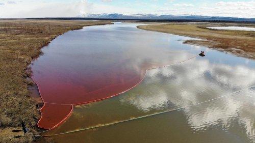 Disastro in Siberia: 20.000 tonnellate di diesel nel fiume Ambarnaya