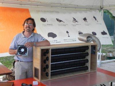 Riscaldare la casa col collettore solare ad aria calda: risparmio ed efficienza