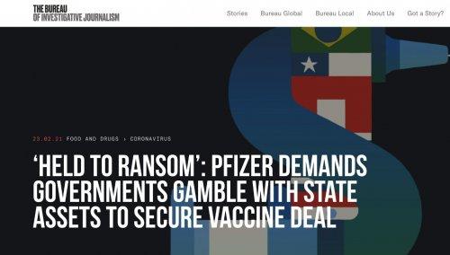 Vaccino Covid: Pfizer accusata di