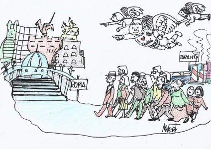 Ex Ilva, tarantini in piazza: «La salute è un nostro diritto»