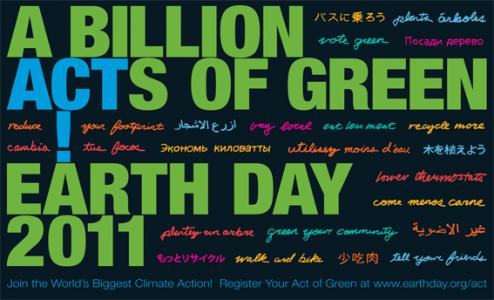 Domani è l'Earth Day, cominciamo a ridurre l'impronta ecologica
