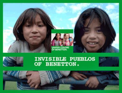 Benetton vs Mapuche: united colors of oppression