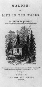 Rileggendo 'Walden' di Thoreau, un esperimento antesignano di decrescita