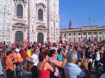Milano e Napoli, l'Europa e l'Africa. Siamo alla fine di un'epoca?