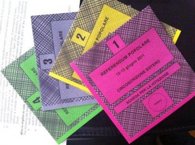 Referendum 2011, come si vota: quattro Sì per dire No