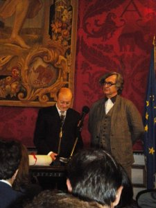 Laurea honoris in Architettura al regista di Lisbon Story