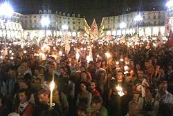 Torino, No-Tav: se le fiaccole fanno più paura dei 'black bloc'
