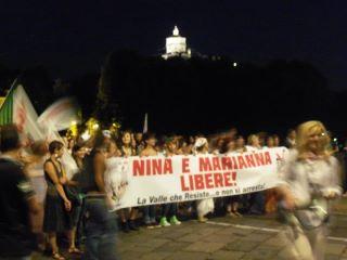No Tav: le due attiviste escono dal carcere, ma non sono libere