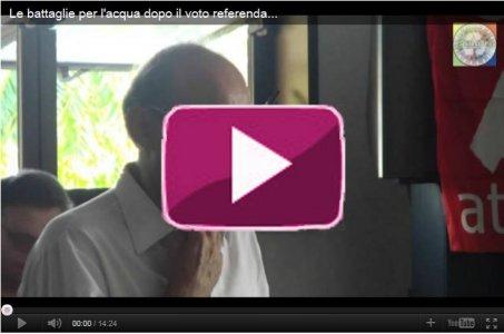 Le battaglie per l'acqua dopo il voto referendario - Attac, Bologna 24/09/11