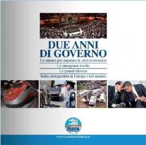 'Due anni di Governo', un libro a casa di ogni famiglia. Ma c'è chi dice no