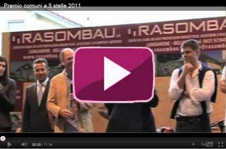 Premio comuni a 5 stelle 2011: il video dell'incontro