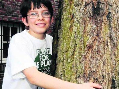 Felix Finkbeiner, 13 anni e un milione di alberi piantati