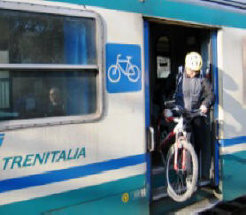 Liguria, da dicembre 'bici+treno' senza pagare il supplemento