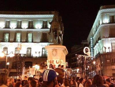 Indignati, 15 ottobre: ecco cosa è successo a Madrid
