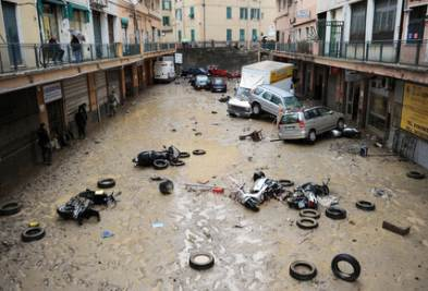 Frane e alluvioni?