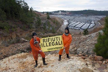 Rifiuti tossici italiani spediti in Spagna, il caso Nerva
