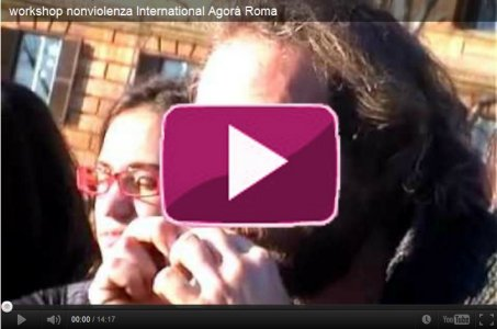 Nonviolenza. Un workshop all'International Agorà di Roma