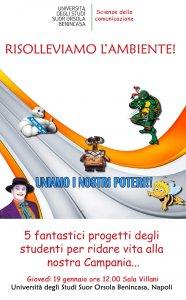 Campania. 5 progetti di marketing ecologico dagli studenti del Suor Orsola