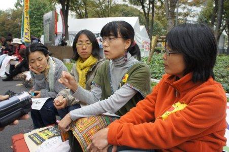 Fukushima. Madri in protesta, ma il governo vuole sgomberare le tende