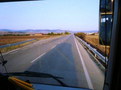 Da Foggia a Campobasso sulla S.S. 17