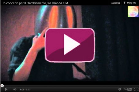 In concerto per Il Cambiamento: Musica da Cucina - Fabio Bonelli