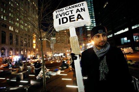 Occupy WS, reportage della protesta. Intervista a Riccardo Staglianò