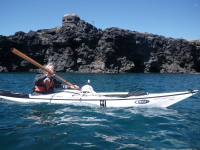 Guido Grignola in kayak 'alla scoperta' del litorale siciliano
