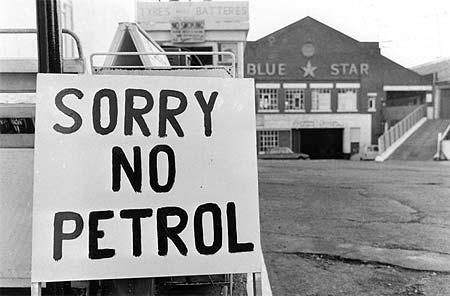 Crisi petrolifera? Il countdown è già iniziato