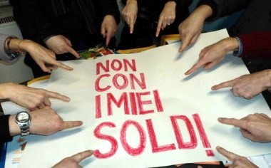 'Non Con I Miei Soldi' incontra 'Occupy Wall Street' e 'Move Your Money'