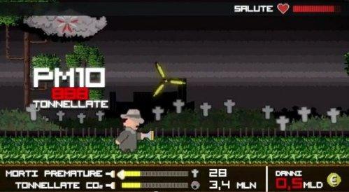 Greenpeace: un videogame per denunciare lo 'sporco gioco' di Enel