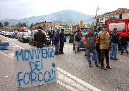 Tornano i Forconi con un presidio in Calabria:
