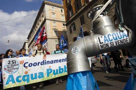 Acqua e servizi pubblici, la Consulta boccia le privatizzazioni