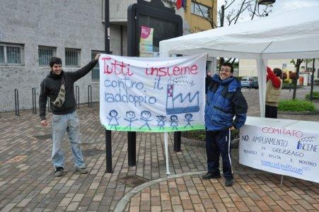 Trezzo sull'Adda, cittadini contro il raddoppio dell'inceneritore