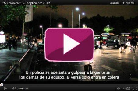 25 settembre, l'indignazione spagnola repressa dalla polizia