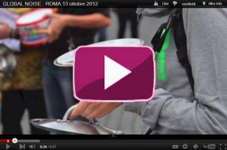 13 Ottobre 2012: il Global Noise a Roma