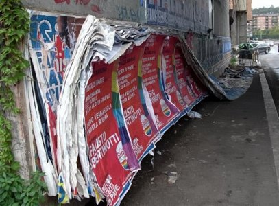 La Selva di Carta. Inchiesta sui manifesti elettorali a Roma