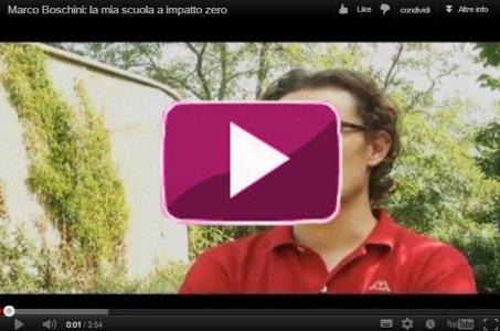 """Marco Boschini presenta """"La mia scuola a impatto zero"""""""