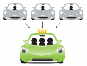 Carpooling, mobilità sostenibile vuol dire condivisione