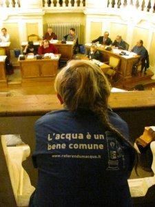 Reggio Emilia verso la ripubblicizzazione dell'acqua
