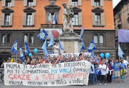 A Reggio Emilia e provincia l'acqua sarà fuori dal mercato