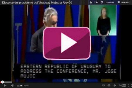 """""""Ci vendono tutto, tranne la felicità"""". Discorso del presidente dell'Uruguay Jose Mujica"""