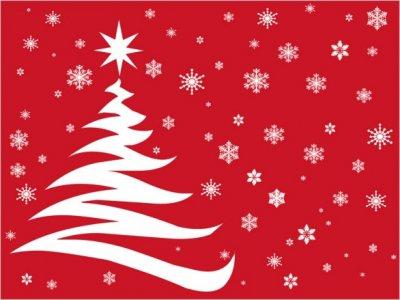 Un Natale ecologico con l'albero di cartone riciclato