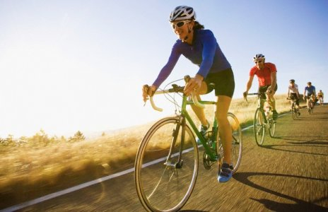 Germania, biciclette in autostrada