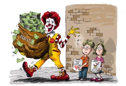 Clowning Around With Charity, ovvero come McDonald's si serve della filantropia puntando l'attenzione sui bambini