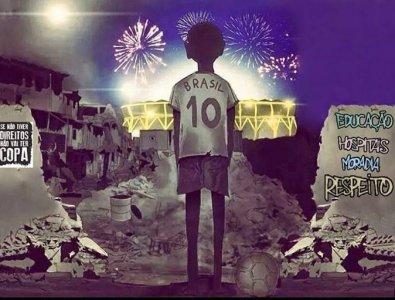 I Mondiali di calcio nel Brasile della miseria
