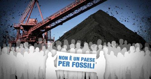 Non è un paese per fossili