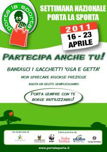 Ad aprile torna 'Porta la Sporta' e...  rifiuta l'usa e getta!