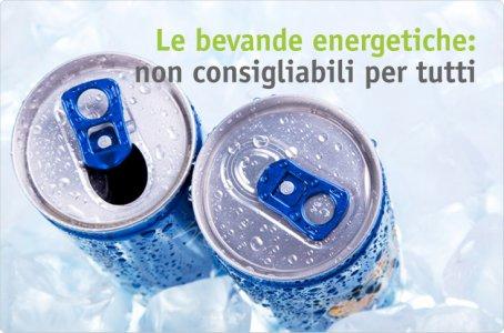 Ma le bevande e gli alimenti energetici vanno bene per tutti?